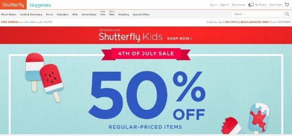 Shutterfly Image Sharing and Printing WebsiteShutterfly Image Sharing and Printing Website
