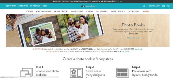 Snapfish Image Sharing Website
