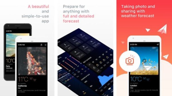 Best Weather Apps for Android You can download for free