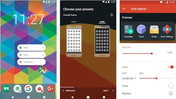 Best Android home screen customization apps