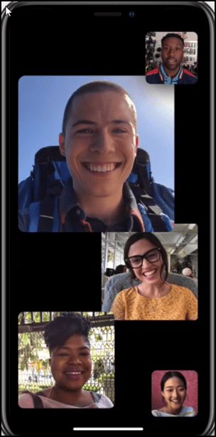 Messaging Face Time integration