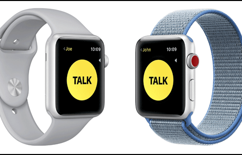 How to use Apple Watch Walkie-Talkie mode
