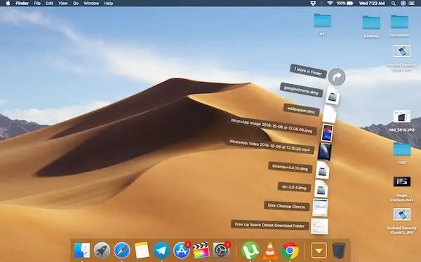 Dock Style in macOS Folder