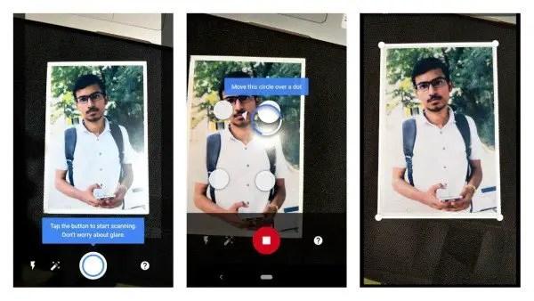 Google Lens Photo Scanning