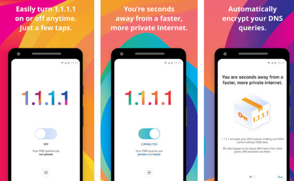 1.1.1.1 app by Cloudflare