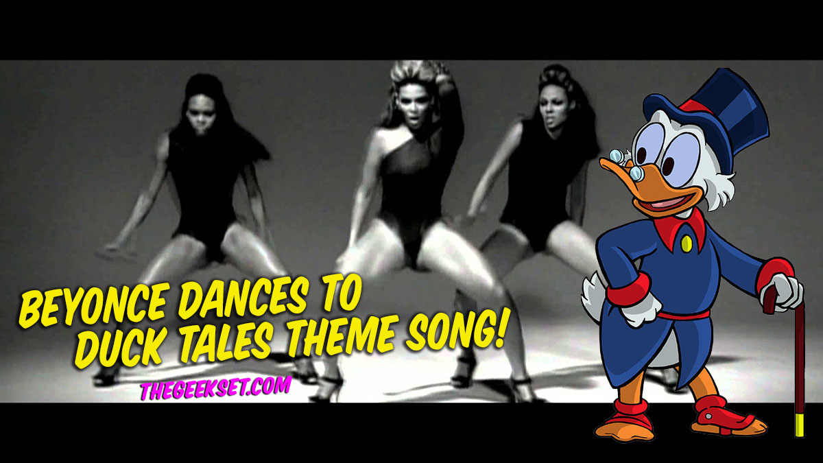 Beyoncé Dancing to Duck Tales Theme Song