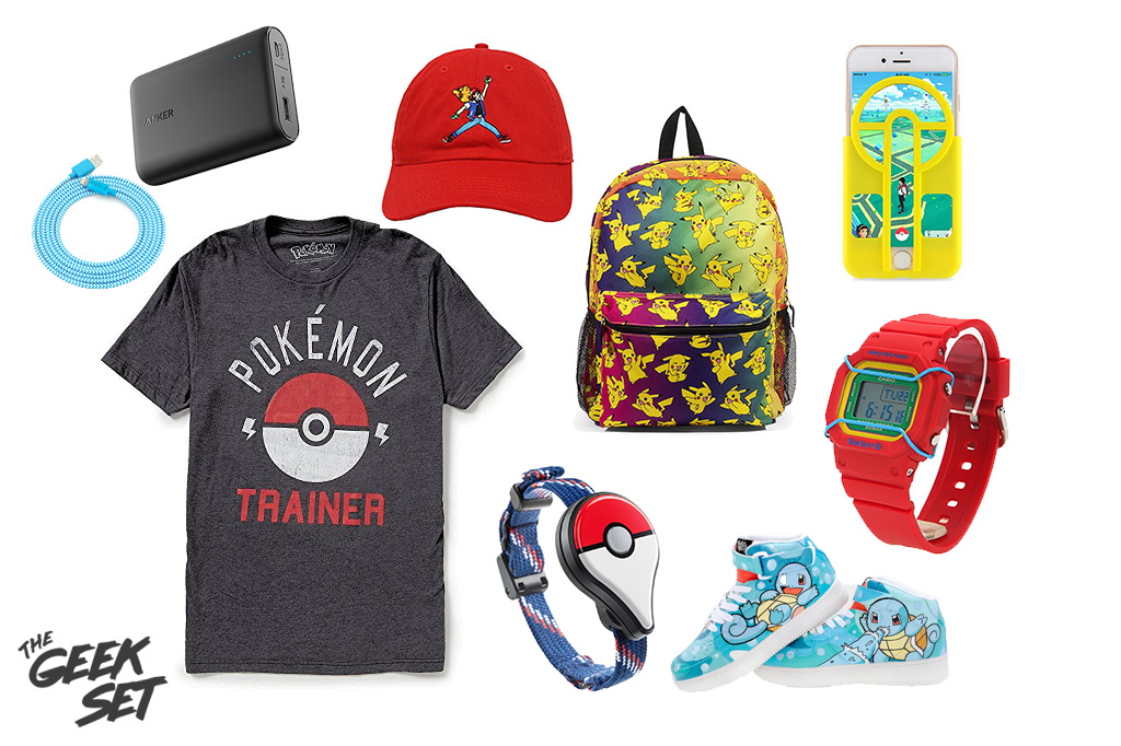 Pokémon Go Gear Style Board, Look Good While Hunting!