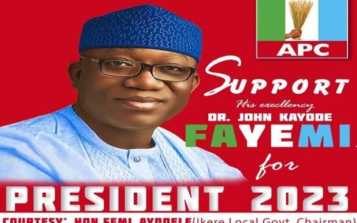 FRESH: Ekiti Assembly Suspends Council Chairman Over Fayemi's Campaign Posters
