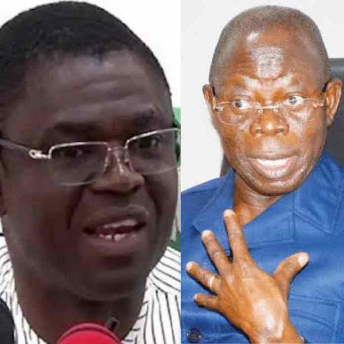 """REVEALED!!! Why Oshiomhole Wanted Me To Help Him Impeach Governor Obaseki """" – Edo Deputy Governor, Philip Shaibu Alleges"""