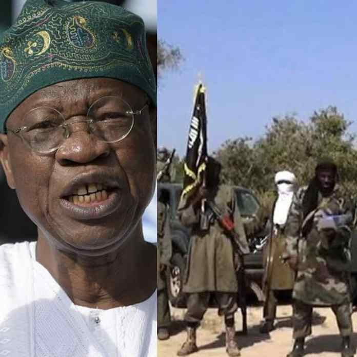 LAI MOHAMMED: World Powers Blocking Efforts To End Boko Haram