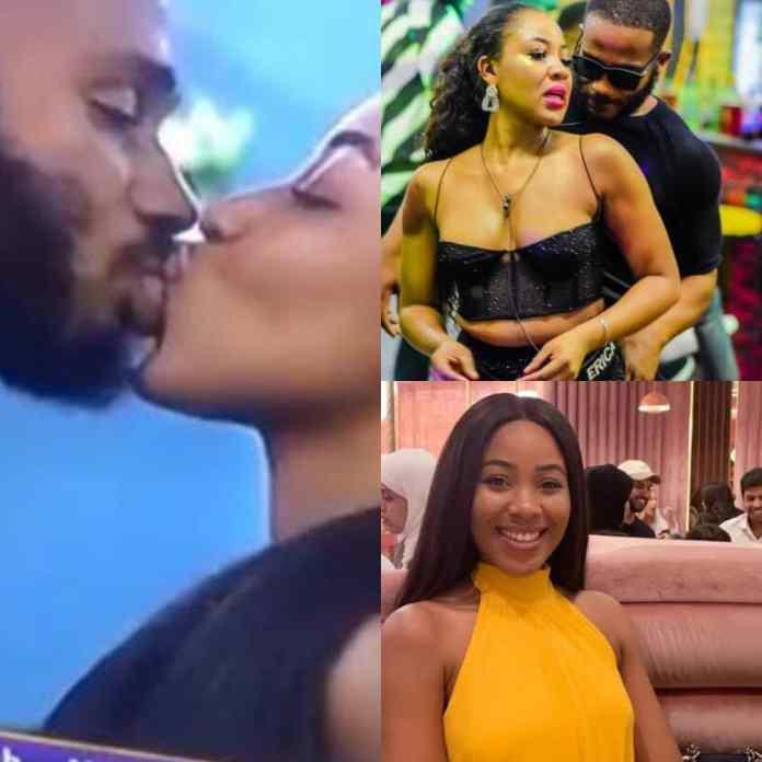 #bbnaijialockdown: Watch Moment Kiddwaya Fondles Erica's Boobs [VIDEO]