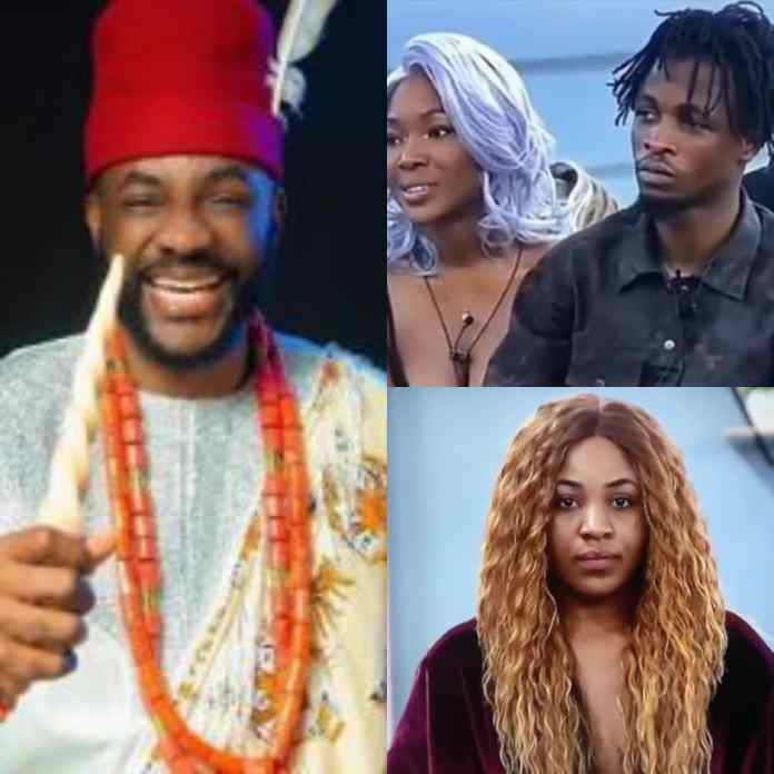 #bbnaijalockdown2020: Watch As Ebuka Exposes Vee As She Advices Laycon To Stay Away From Erica