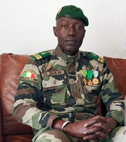 Faces of Mali's coup leaders