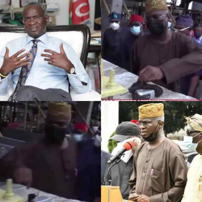 How Babatunde Fashola Uncovered Mystery Camera At Lekki Toll Gate [Video] -#endinjustice