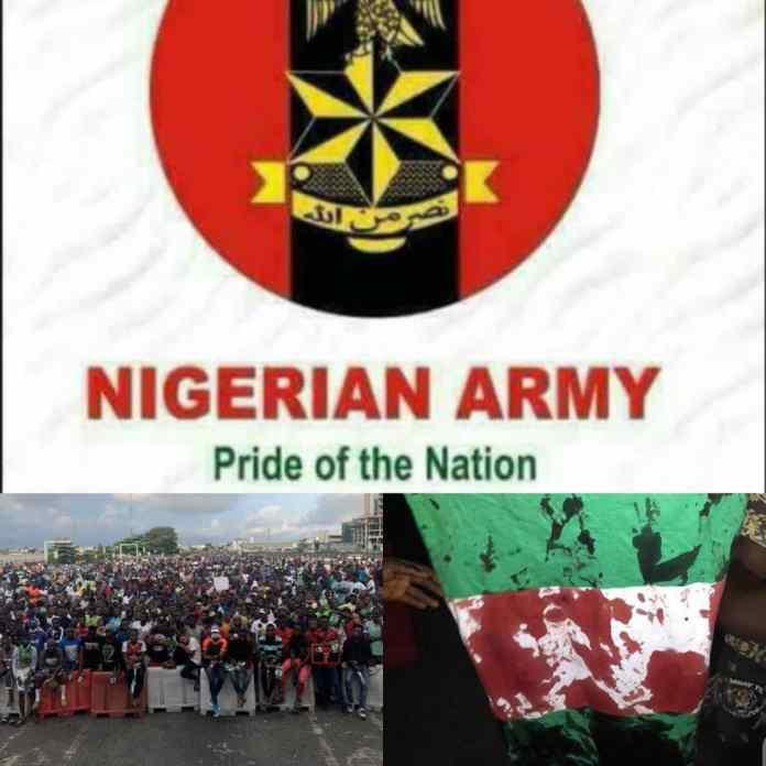 LEKKI TOLLGATE: Army Denies Lekki Shooting Protesters After CCTV Revealed Otherwise - #BlackTuesdayNigeria