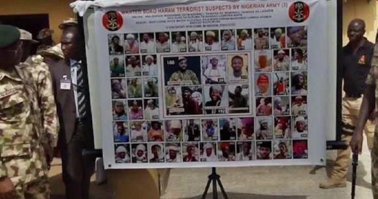 REVEALED!!! Nigeria Army Rolls Out List Of 86 Most Wanted Terrorists