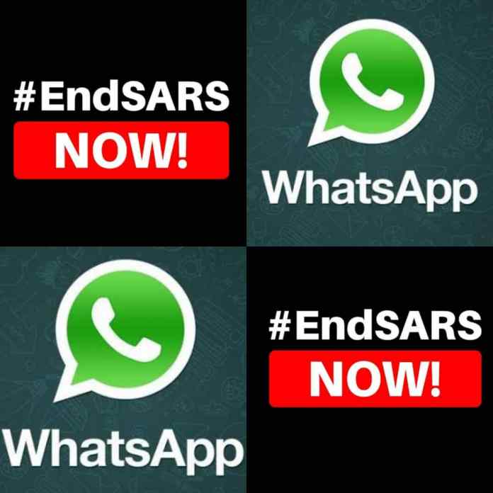 REPORT!!! Police Reportedly Detain #EndSARS Protest WhatsApp Group Administrators