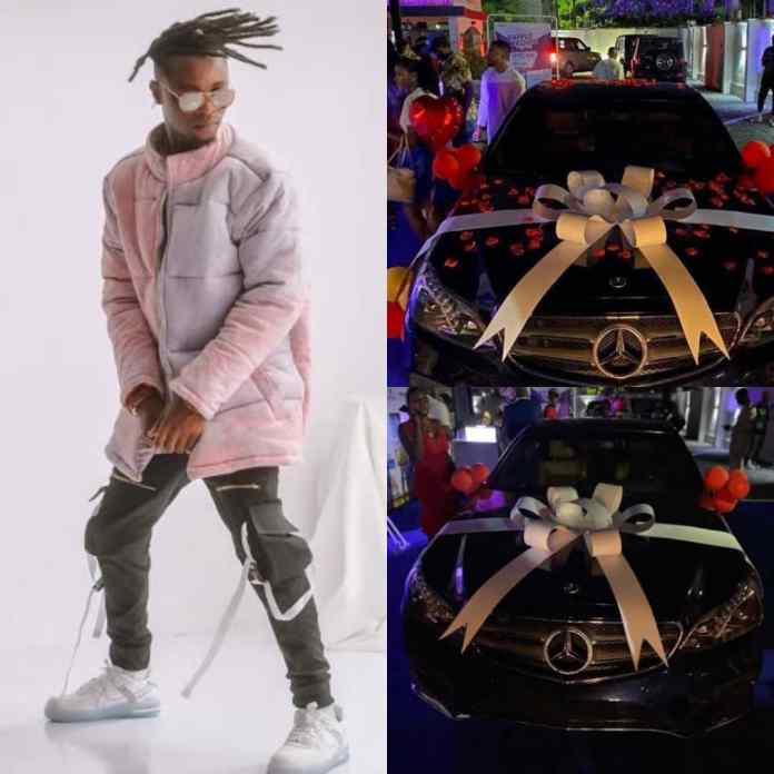 #Icon Surprises #BBNaija Laycon With Benz And Fully Equipped Studio As He Clocks 27 [PHOTOS/VIDEOS]