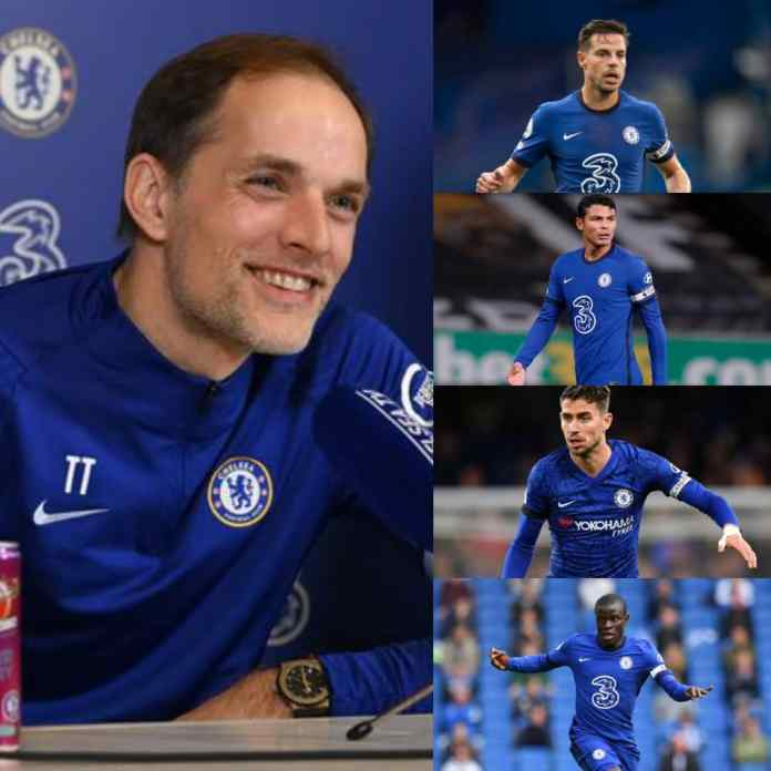See New List Of Chelsea Captains Named By Thomas Tuchel