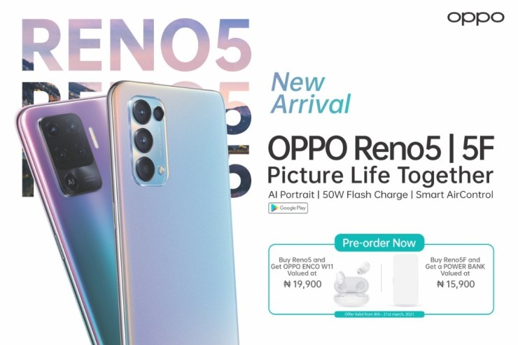 BREAKING: OPPO Launches Reno5 Series Today And Here Is A Quick Look