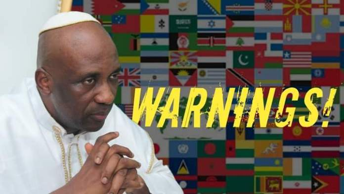 The Chronicles Of Primate Ayodele's Fulfilled 'Warnings To The Nations'