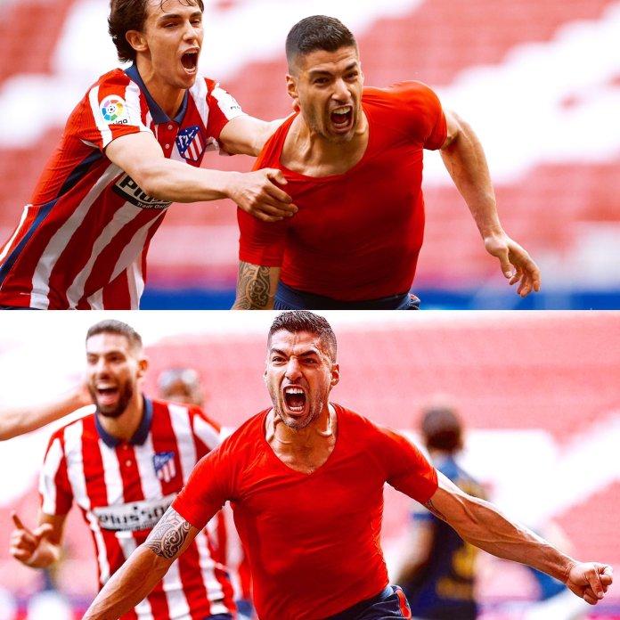 BREAKING: Suarez Leads Atletico Madrid To Win 2020/2011 La Liga Title