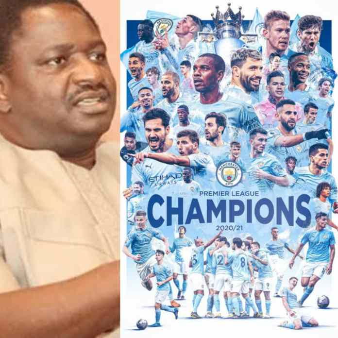 Femi Adesina Likened Man City #EPL Victory To Nigeria Security Challenges