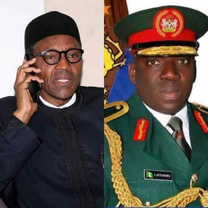 BREAKING: Buhari Calls Wife Of Late Chief Of COAS Ibrahim Attahiru, Spouses Of Other Deceased Officers