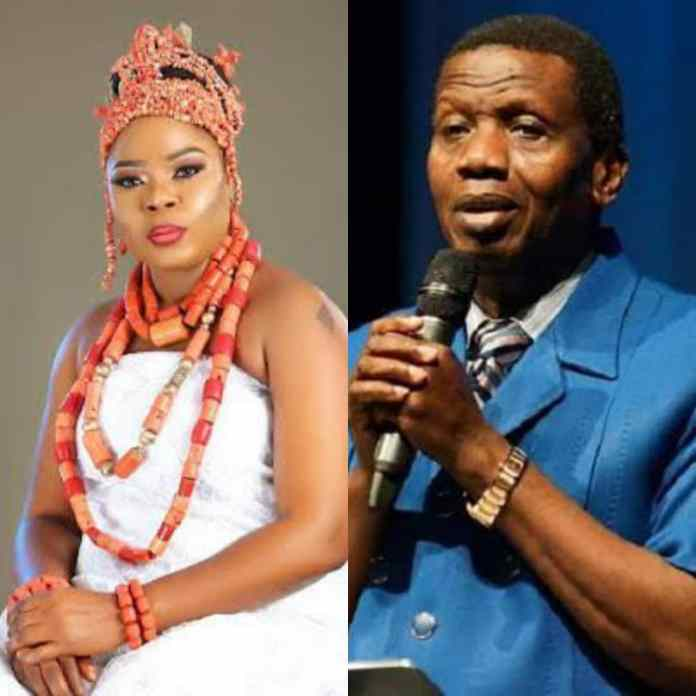 Famous Nollywood Star Reveals How Adeboye Made Her Convert From Islam