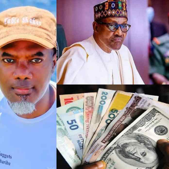 Naira Is Now ₦500 To $1 As Buhari Has 2 More Years - Reno Cries Out