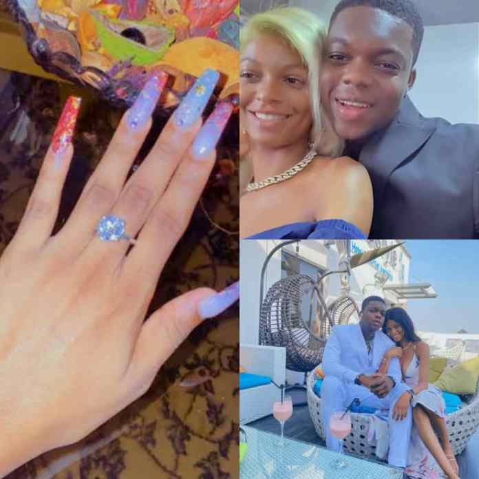 See What Adeherself Said As Comedian Abiola Secretly Ties The Knot To His Girlfriend