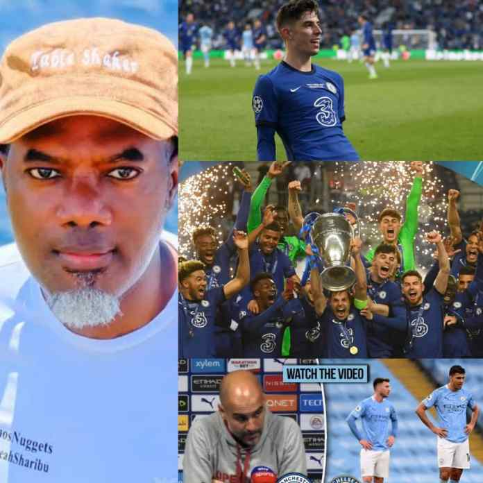 Reno Omokri Criticize Fights Between #Chelsea And Mancity Supporters, Fan Reacts