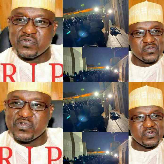 HAPPENING NOW!!! Remains Of Ahmed Gulak Laid To Rest In Abuja [PHOTOS]