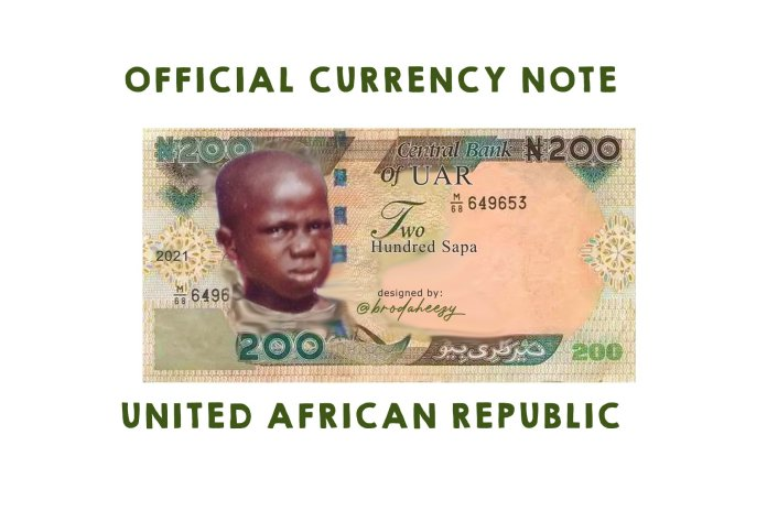 See New Currency As Nigeria Moves To Change Name To 'United African Republic'