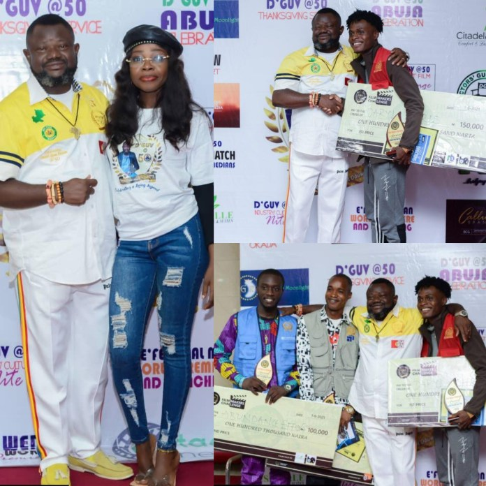 Lancelot At 50: 21-year-Old From Delta State, Daryl Chris Wins Film-makers Challenge [PHOTOS]