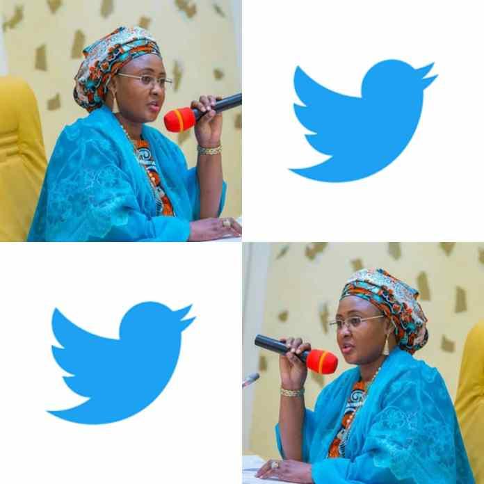 BREAKING: Aisha Buhari Deactivates Her Twitter Account As #TwitterBan Trends [PHOTO]