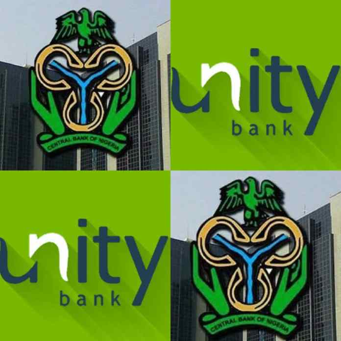 JUST IN: CBN Debunks Report On Planned Nationalisation Of Unity Bank