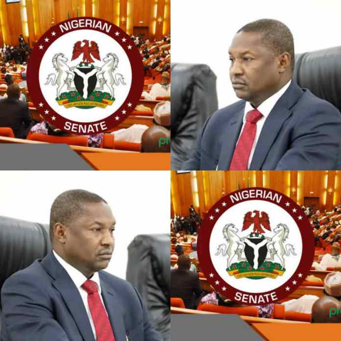 JUST IN: Senate Roasts Malami For Giving Wrong Legal Advice To Buhari