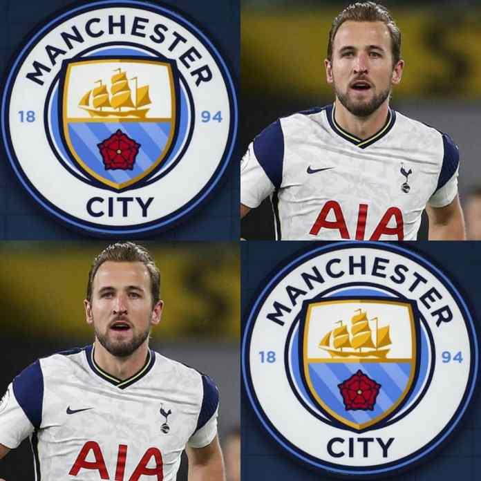 TRANSFER!!! Manchester City Offer £100million For Tottenham's Harry Kane