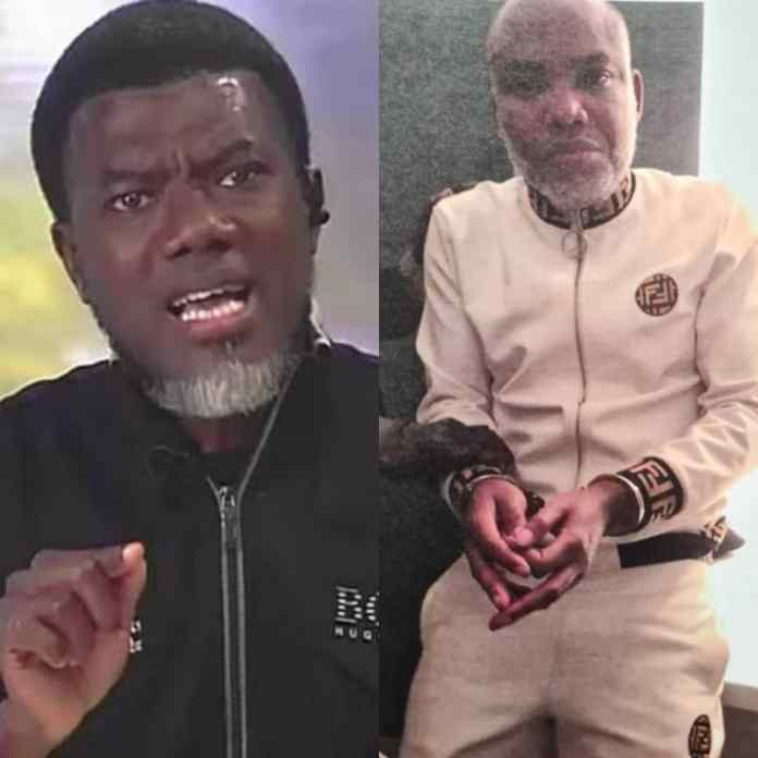 Reno Omokri Reveals Country Where Nnamdi Kanu Was Re-arrested