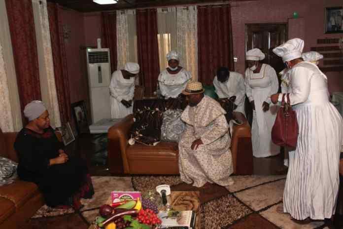 PHOTOS: Primate Ayodele Pays Condolence Visit To TB Joshua's Widow, Eulogizes Late Prophet