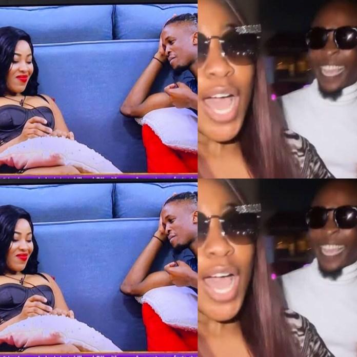 NEVER SAY NEVER!!! Laycon And Erica Finally Reconcile As #BBNaijaSeason6 Kicks Off [VIDEO]