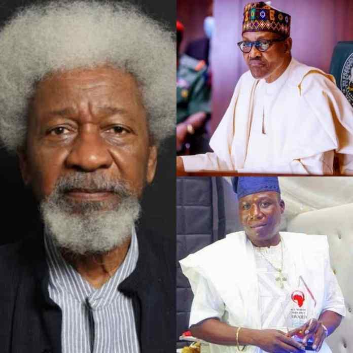 Tell Sunday Igboho You Made A Mistake And Tender Apology Now – Soyinka to Buhari