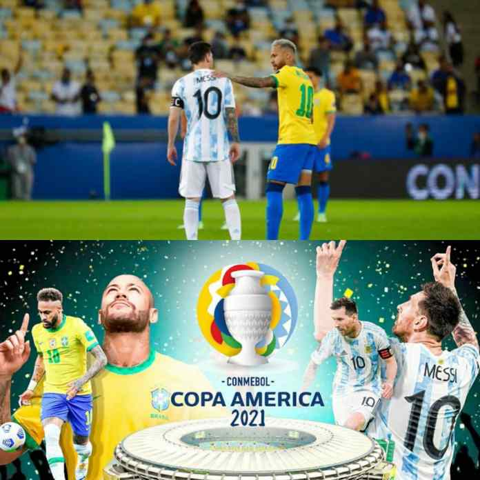 BREAKING: Lionel Messi Defeat Neymar And Brazil To Win #CopaAmerica2021