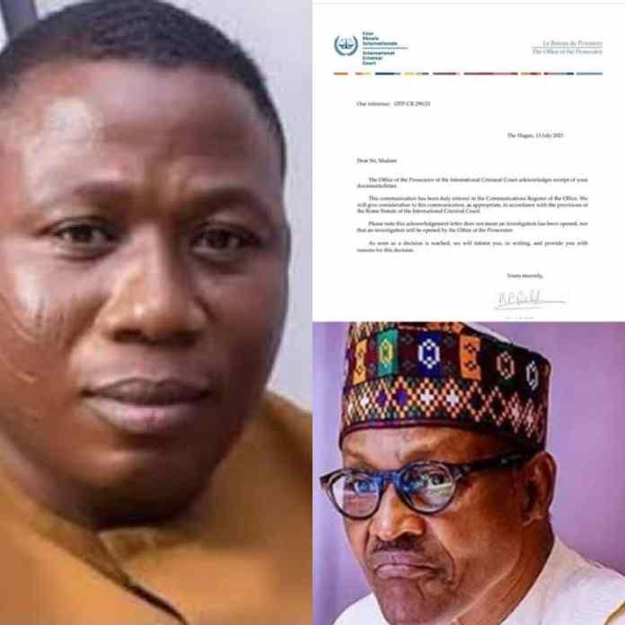 BREAKING: ICC Receives Sunday Igboho's Petition Against Buhari's Govt - #YorubaNation