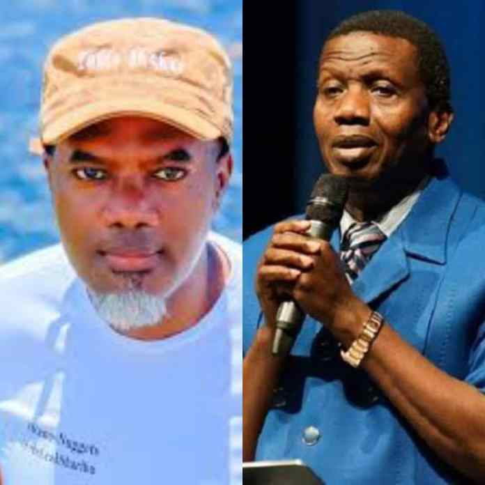 What Reno Omokri Told Pastor Adeboye's Critcs As RCCG GO Sends Condolence LETTER To TB Joshua's Widow