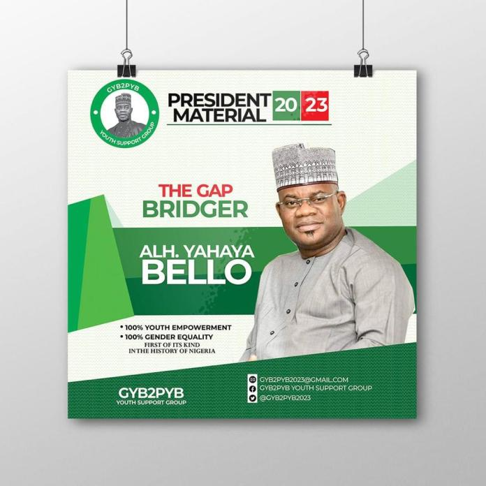 Yahaya Bello's 2023 Quest for Presidency: An Objective Analysis