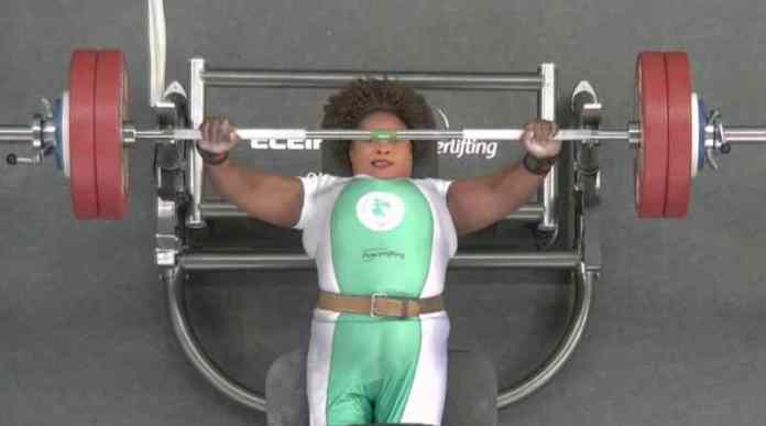 #TeamNigeria Wins 2nd Gold In Tokyo After Bose Omolayo Set New Paralympic Record In Powerlifting