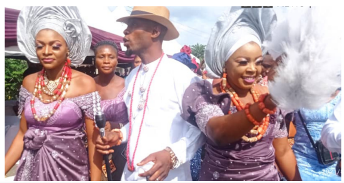 Young Fish Farmer Compares Self With King Solomon As He Marries Two Women Same Day [PHOTOS]