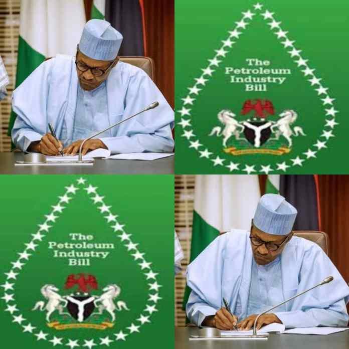 President Buhari Signs Petroleum Industry Bill Into Law - #PIB